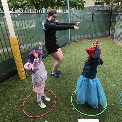 Kids Gymnastics Proactivity