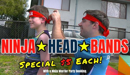 Ninja Headbands Small