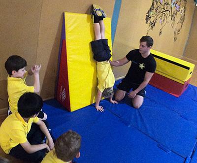 Proactivity Gymnastics Student Handstand