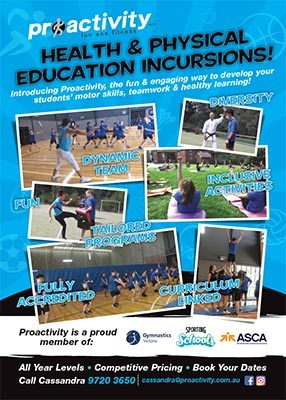 Proactivity Secondary Schools Flyer Small