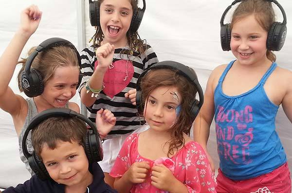 Proactivity Silent Disco Party Activities