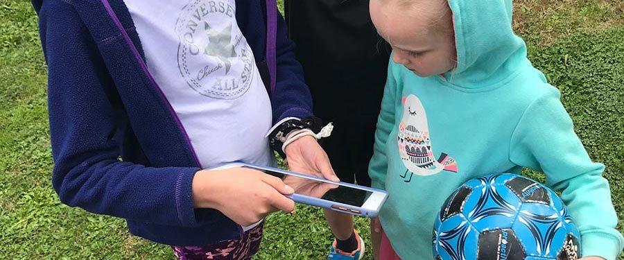 Kids Watching Online Videos Lessons Nav