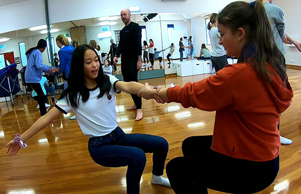 Proactivity Circus Skills Balance