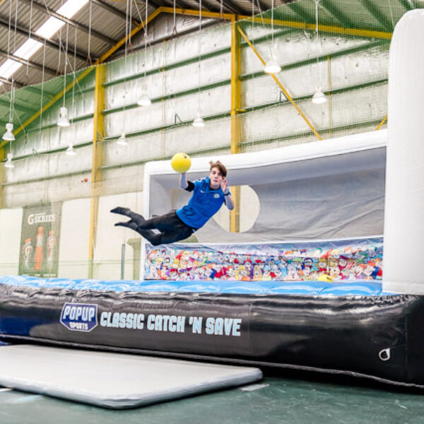 Classic Catch Save Side Sports Inflatable Proactivity