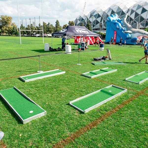 Mini Golf Course Proactivity