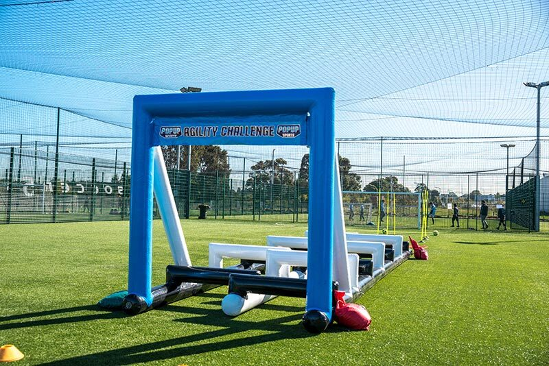 Agility Run Front Sports Inflatable Proactivity