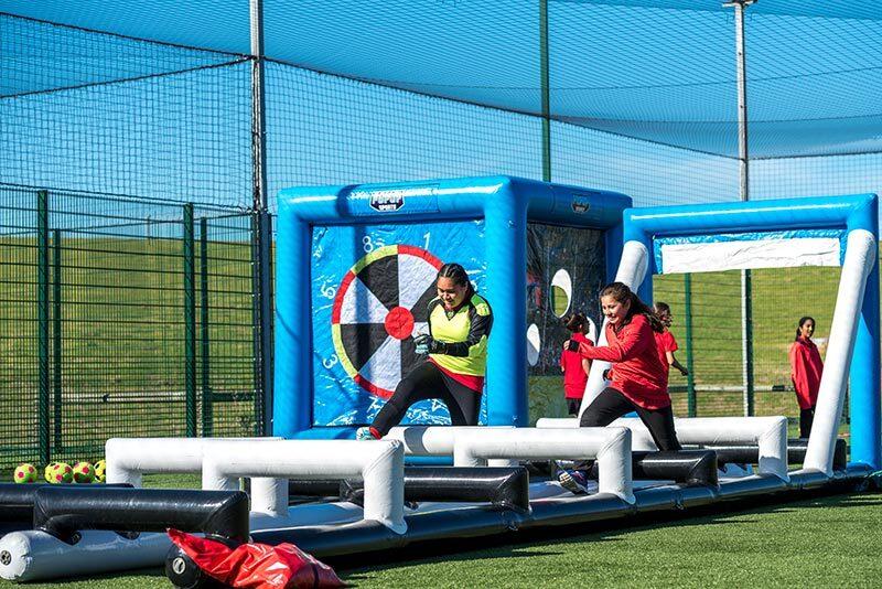 Agility Run Girls 2 Sports Inflatable Proactivity