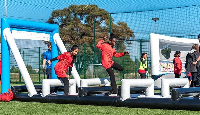 Agility Run Girls Sports Inflatable Proactivity