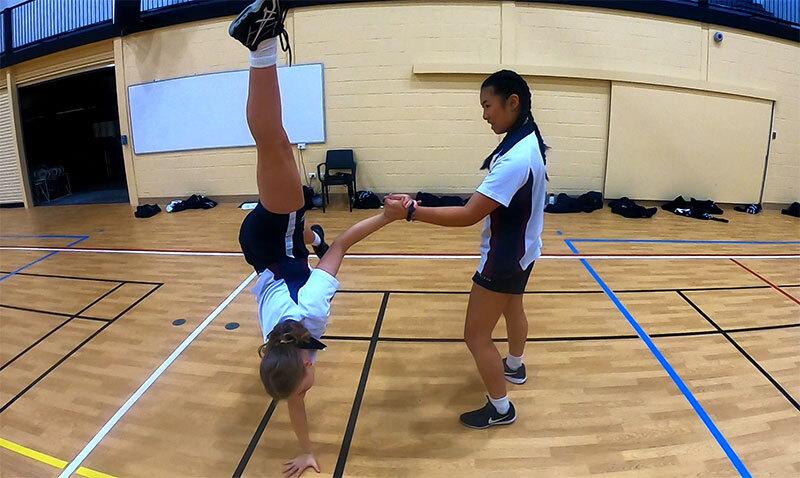 Capoeira Proactivity Handstand