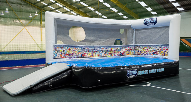 Classic Catch Save Front Sports Inflatable Proactivity
