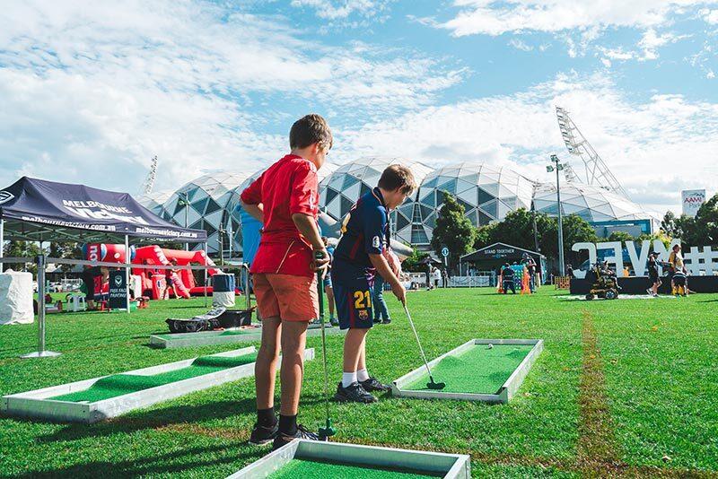 Mini Golf Kids 2 Proactivity