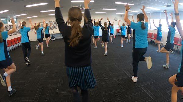 Proactivity Sport Aerobics Programs Secondary Schools